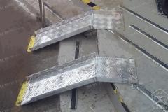 Алюминиевые аппарели. Для входной группы. Поставка по всей России.