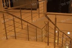 Безопасные лестничные перила из нержавеющей стали