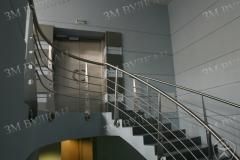 Нержавеющие лестничные перила от производителя. Производство и установка под ключ