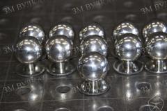 Декоративные наконечники для стоек. Нержавеющая полированная сталь