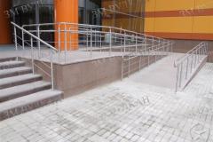 Ограждения пандуса и лестницы по программе Доступная среда