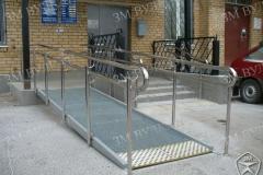 Пандус для инвалидов для общественной приёмной