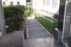 Заездная площадка пандуса для инвалидов ГОСТ