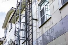 Пожарная металлическая лестница от производителя
