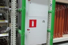 Пожарный шкаф из конструкционной стали  с окраской по таблице RAL