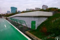 Комплекс велопарковок изготовлен ко дню города одного из городов России. Изделия выпущены и доставлены в срок. Заказчик доволен.