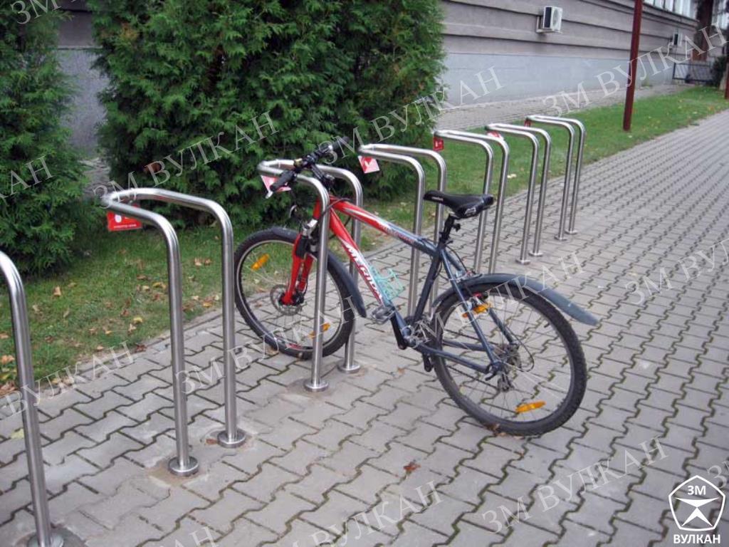 veloparkovka iz nerzhaveyushhej stali - Как выбрать велопарковку?