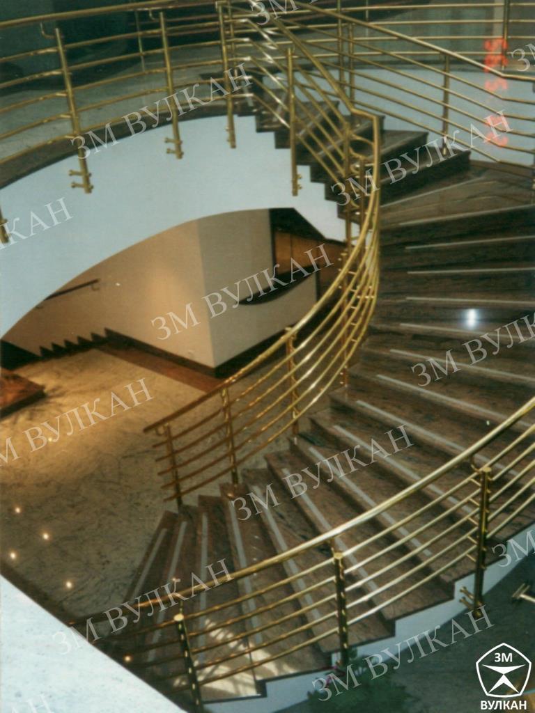 001 - Качественные лестничные ограждения – безопасность и эстетика.