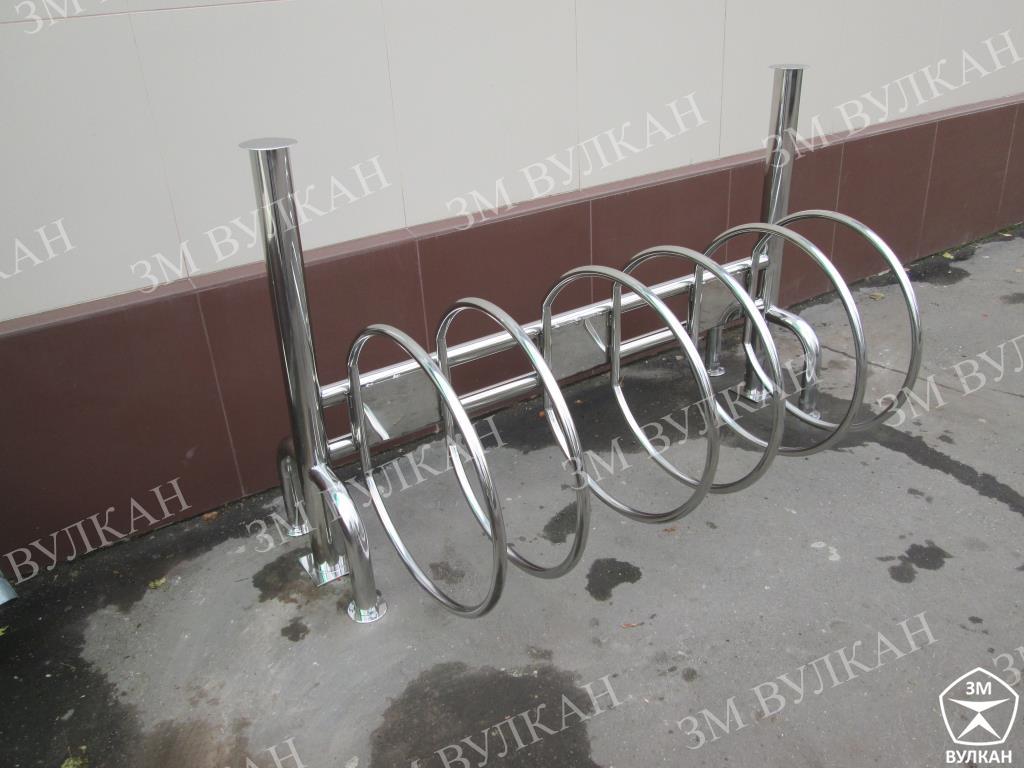IMG 7183 - Изготовлены и установлены велопарковки.