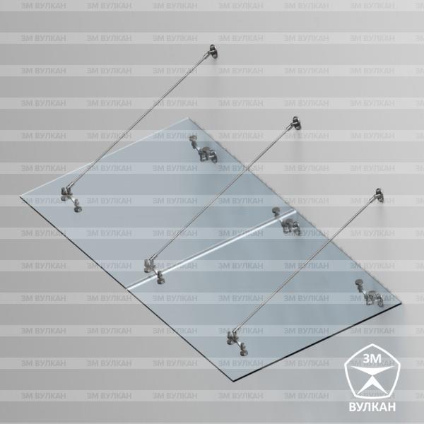Козырек стекло тип. 7.2