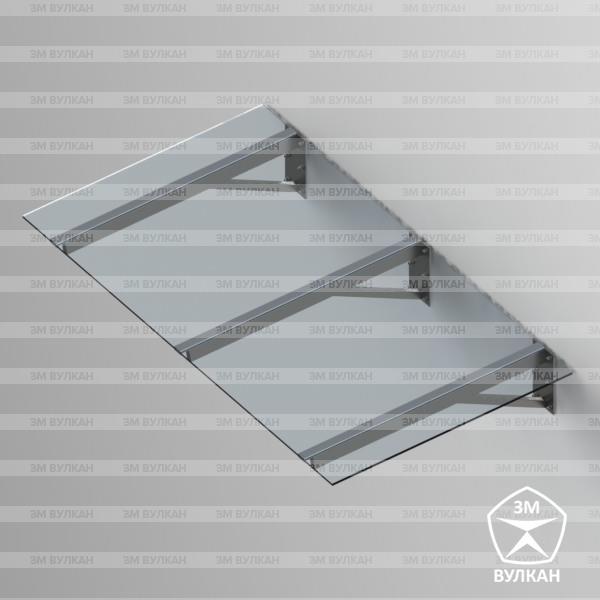 Козырек стеклянный Тип. 1.3