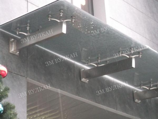 Козырек стеклянный. Тип 4.3