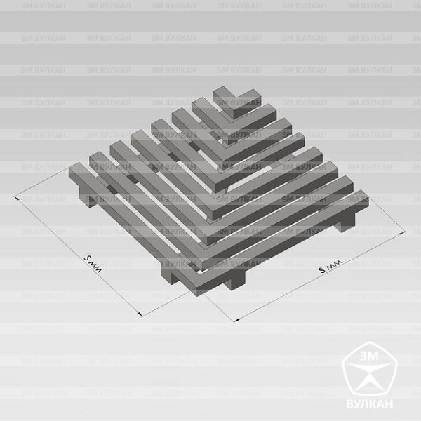 Slivnaya reshetka ot zavoda izgotovitelya RSH3 1 - Оборудование для бассейнов