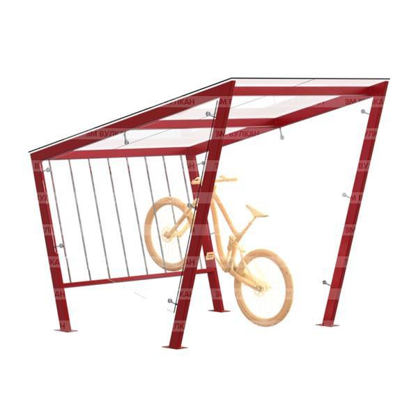 Naves 2 1 600x600 - Современный навес для велопарковки ВН-2