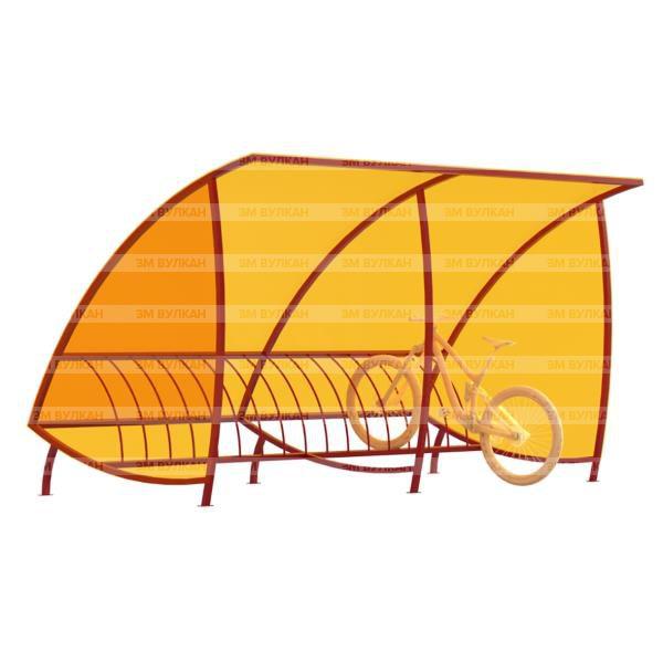 Naves 3 1 600x600 - Навес для велостоянки под 45 градусов ВН-4