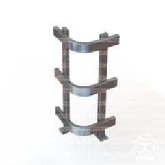dc 12 241x241 - Отбойник для защиты угла колонны. Высокий КЛ21