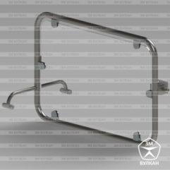 Zerkalo MGN 241x241 - Зеркало поворотное откидное для инвалидов 600х600 мм