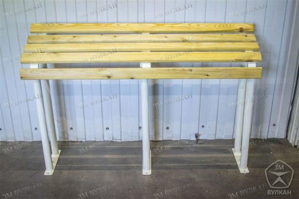 wm image1 600x400 - Опорная скамейка для МГН с антибактериальным покрытием стали