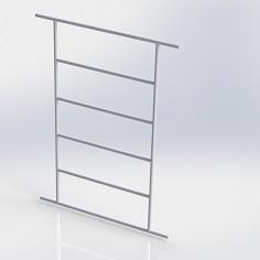 Лестница для шведской стенки из нержавеющей стали