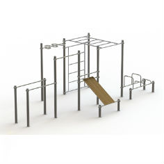 big workout place nerzhaveyka 1 241x241 - Большой уличный комплекс для занятий воркаутом из нержавеющей стали