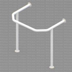 RS2 241x241 - Поручень для раковины на стойках для полукруглой раковины Ø30 металлическая