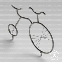 "VD1 241x241 - Велопарковка ""Велосипед"" ВД-1"